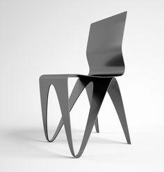 Carbon fiber chair #PlasticChair