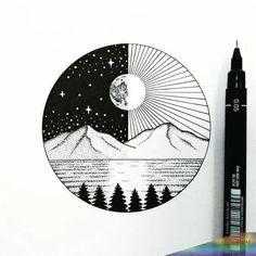 Cool Art Drawings, Pencil Art Drawings, Doodle Drawings, Art Drawings Sketches, Easy Drawings, Doodle Art, Drawing Ideas, Drawing Quotes, Drawings Of Stars