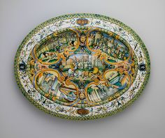 Dish (one of a pair)