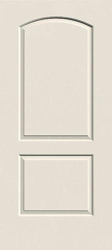 2 Panel Arch Molded Interior Door Slab