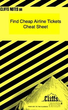 I've compiled a cheat sheet detailing exactly how to find cheap airline tickets. Depending on when you go, and where you go, there is a best search engine for you to help you find cheap plane tickets.