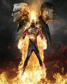 Firestorm / Martin Stein and Jax Jackson!