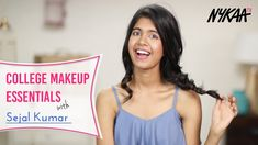 College Make-up und Beauty Essentials Ft. Indian Makeup Essentials, Beauty Essentials, Best Beauty Tips, Beauty Care, Sejal Kumar, College Makeup, Best Body Scrub, Skin Secrets, Makeup Haul