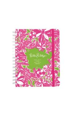 Large Lilly Pulitzer agenda / planner