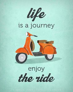 Life is a journey!