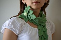 Old cardigan becomes an Anthropologie-esque scarf