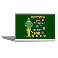 ELF Laptop Skins toddlers cases more #Santa #Christmas #Elves #North Pole Buddy the #Elf designs see all my #Elf designs in my profile, search Elf Click here -- http://www.cafepress.com/dd/92206474