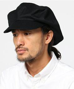 ESTNATION MEN(メン)のKIJIMA TAKAYUKI ウールキャスケット(キャスケット) ブラック