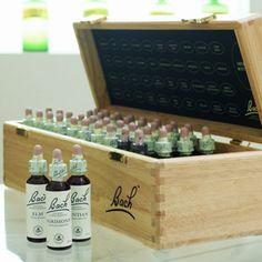 38 Bach Flower Remedies in a box - my secret treasure box :)