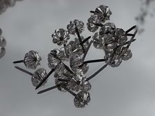 kleine antike Murano Glas - Nägel Venezian Spiegel Kristall - Stifte Nagel