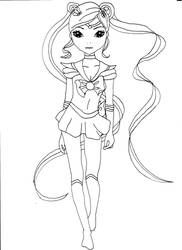 Topmodel Sailor Moon By Ka Kind Art Journal Inspiration Sailor Moon Art