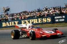 Clay Regazzoni | 1971 England | Ferrari 312B2 Formula One