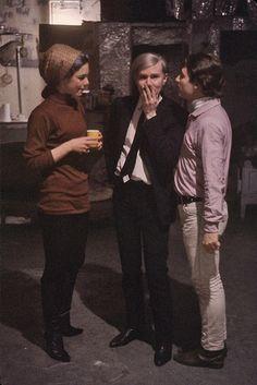 Edie Sedwick Andy Warhol Gerard Malanga