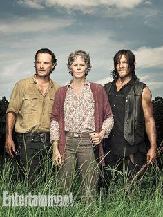 The Walking Dead : Rick et Daryl très très proches sur les photos - News Série Tournages - AlloCiné
