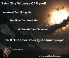 The Secret Behind Quantum Jump In Human Consciousness - The Last Spartan