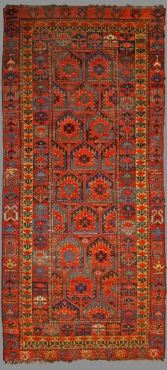 Early Beshir, with rare Design , size: 258x112cm