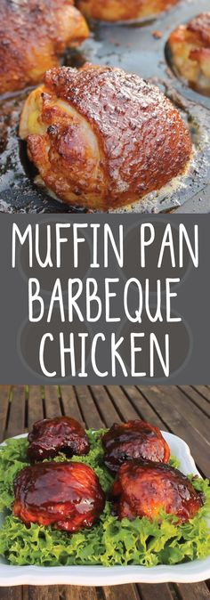 It's universally acknowledged that barbecued chicken is a staple of any cookout. Not that we're trying to reinvent the wheel or anything, but we're always looking to take our grill game to the next level -- which is why we're pretty obsessed with 0815BBQ's recipe for muffin pan barbecued chicken. It might sound a bit odd, but hear us out: grilling the chicken legs in a muffin tin lets them cook in their own fat, resulting in richer flavor and moist, juicy texture.