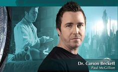 Paul McGillion- Dr Carson Beckett- Stargate Atlantis