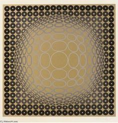 The ~ Artworks of Victor Vasarely Victor Vasarely, Op Art, Kinetic Art, Illusion Art, Geometric Art, Photo Manipulation, Pattern Art, Modern Contemporary, Special Delivery