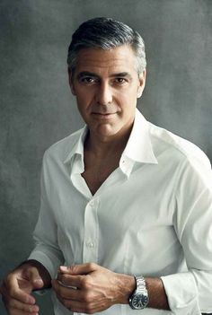 George Clooney. He has proven his mettle again and again. He's arrived. He's so charismatic, so refreshingly restrained an actor.
