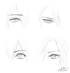 anime eyes Ideas For Drawing Eyes Male Anime Drawing Eyes, Guy Drawing, Manga Drawing, Manga Art, Drawing People, Anime Art, Anime Drawings Sketches, Anime Sketch, Art Drawings