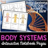 Body Systems Interactive Notebook Pages: Body Systems - Bring your science journal to life using this Body Systems activity. This activity will help your students learn the major body systems, functions, and major organs. Secondary School Science, 6th Grade Science, Middle School Science, Color Activities, Science Activities, Teaching Science, Biology Classroom, Interactive Journals, Body Systems