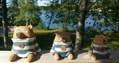 Merikarhuja Ceramic Art, Teddy Bear, Ceramics, Toys, Animals, Ceramica, Activity Toys, Pottery, Animales