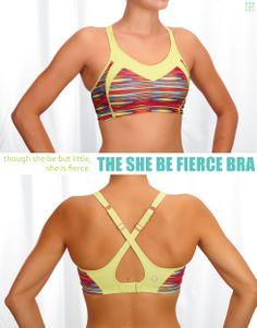 7b4d59f0662289 She Be Fierce Bra - Work-to-Workout Bras - Sports Bras