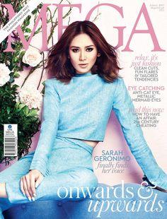 Sarah Geronimo | Mega Magazine Cover Philippines | January 2015 Filipina Beauty, Geronimo, Celebs, Celebrities, My Girl, Fashion Forward, Singer, Photoshoot, Actresses