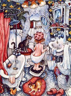 Иллюстрации Bill Bell (26 работ)