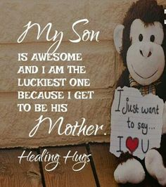 All my boys ♥️♥️♥️ Mommy And Son, I Love My Son, Mom Son, Love Of My Life, Mother Son, Mommy Quotes, Son Quotes, Mother Quotes, Family Quotes