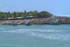 Pulau yang dilihat dari Karang Bolong