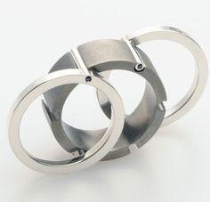 Carl Wetter Titanium Ring 4