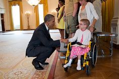 Barack Obama Being Adorable with Adorable Children