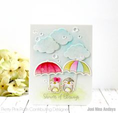 Tutorial: Watercolor Gift Card Holder + Giveaway | Pretty Pink Posh by Joni Nina Andaya | Shoers of blessings