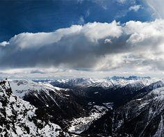 Photograph of the week: Pejo 3000 in the Italian Dolomites  http://www.aluxurytravelblog.com/2013/01/30/photograph-of-the-week-pejo-3000-in-the-italian-dolomites/