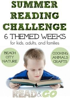 Summer Reading Challenge: Read  Go 2014 - 6 week activity book for kids to discover fun books and family activities | StuffedSuitcase.com.