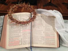 Polk Street United Methodist Church, Amarillo TX Easter Sunday, Crown of Thorns display