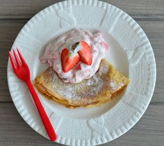 GROVE PANNEKAKER TIL FROKOST, MIDDAG ELLER EN ENKEL HVERDAGSDESSERT Healthy Recipes, Healthy Food, Pancakes, French Toast, Yummy Food, Breakfast, Blogging, Healthy Foods, Morning Coffee