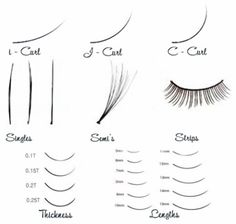 type of eyelash extensions - Google Search