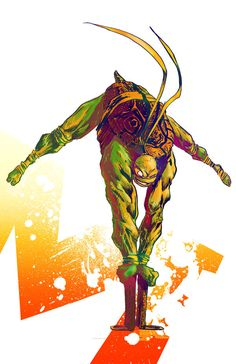 Michelangelo Colors by ~ComicMunky on deviantART
