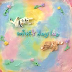 Little Cakes, Cafe Food, Care Bears, Cute Cakes, Pastries, Cake Ideas, Food Ideas, Sweet Treats, Dessert