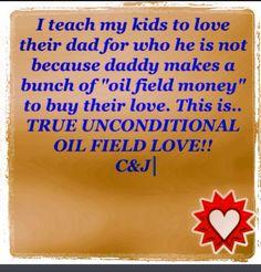 Oilfield life.  Values