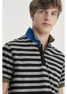 Stripes are a passion that will never ends! Colorful, stylish, perfect for every occasion ... there are countless to combine with pants and shorts, for an unforgettable summer. #SUN68 #SS17 #POLO #patches #stripes #icons #colors