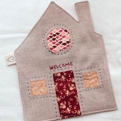 Cozy Little Cottage Mug Rug Sewing Pattern Mug Rug Patterns, Sewing Patterns Free, Free Sewing, Little Cottages, Cute Mugs, Mug Rugs, Hot Pads, Fabric Scraps, Quilting Designs