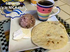Tortillas, queso, gallo pinto y café(Comida de ricos)