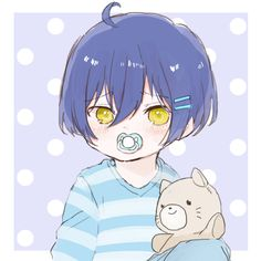 """laineclemence: """" Baby Clemence Brothers 💕 """" 😍🥰🥰🥰💕💜😭 so adorable 💜💕 the cutest babies 😍😊🥰 Cool Anime Girl, Anime Guys, Manga Anime, Anime Character Drawing, Cute Anime Character, Bebe Anime, Anime Family, Baby Drawing, Anime Child"""
