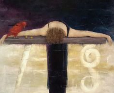 Contemplation and colorful vivaciousness: paintings by Erica Hopper - ego-alterego.com