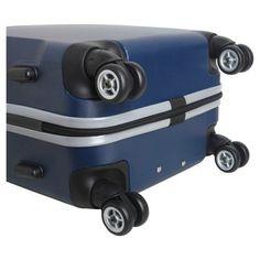 NBA Charlotte HornetsMojo Carry-On Hardcase Spinner Luggage - Navy, Charlotte Hornets
