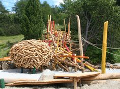 Playground Nests, Kukuk, 2004-2014 - Playscapes